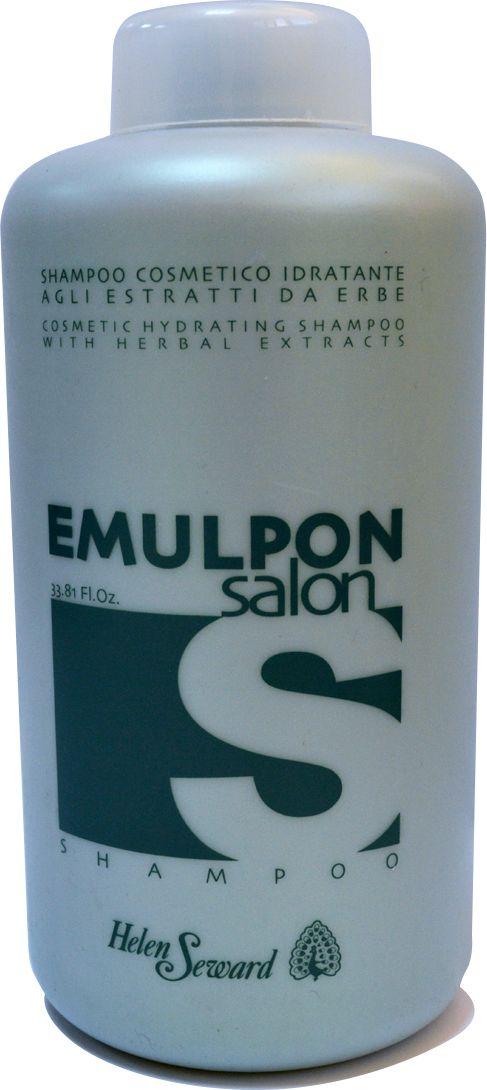 Helen Seward Emulpon Salon Hydrating Shampoo Увлажняющий шампунь, 1000 мл844PH-нейтральная формула, обогащенная травяными экстрактами, мягко очищает волосы и кожу головы. Подходит для всех типов волос, а также для частого использования.