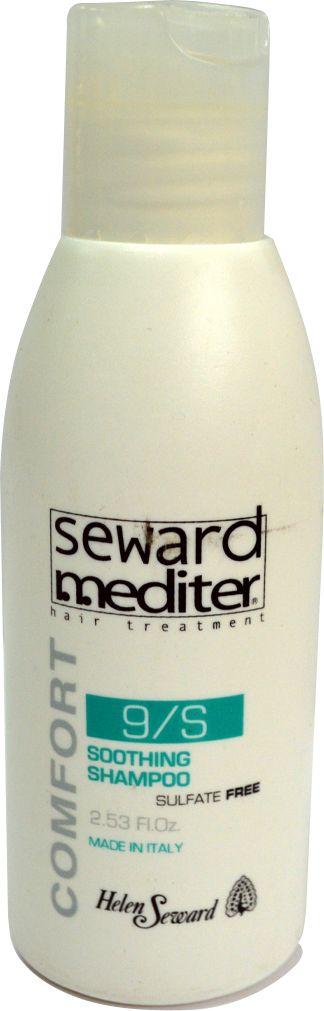 Helen Seward Soothing Shampoo 9/S Шампунь без сульфатов для чувствительной кожи головы, 75 мл9070Шампунь для чувствительной кожи головы Helen Seward содержит только натуральные компоненты и отличается приятным запахом. Сбалансированная формула средства призвана оказывать увлажняющее действие, сохраняя естественный уровень влаги, нейтрализует токсины, а также устраняет повреждения, которые были вызваны окрашиванием либо агрессивным воздействием внешних факторов. Мягкая текстура шампуня из линии средств Mediter бережно очищает, успокаивает и снимает покраснение, раздражение кожи головы, питает волос.