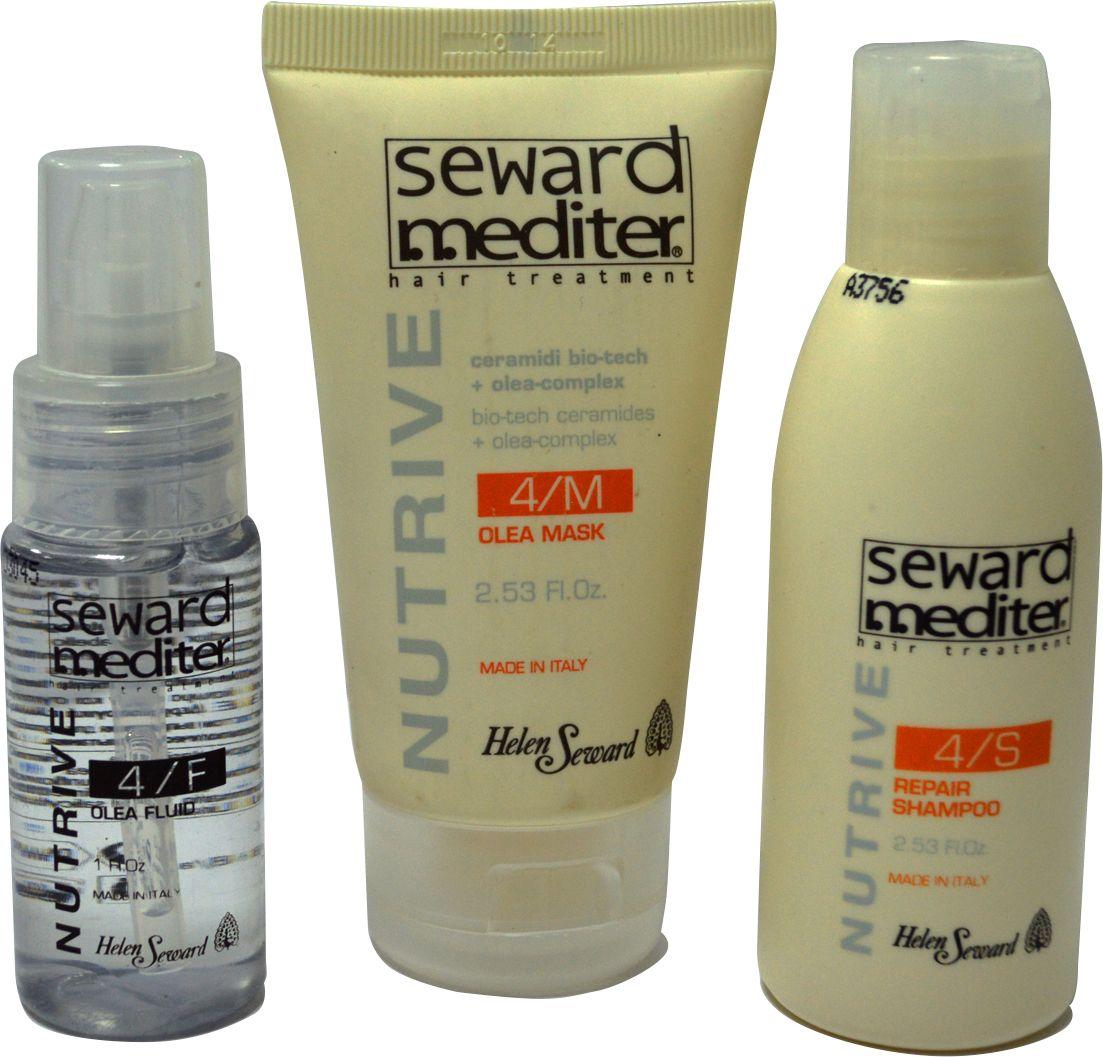 Helen Seward K/486 Nutrive Kit Набор для глубокого питания и восстановления волос, 3х75 млK/486Набор для глубокого питания и восстановления волос, из серии представлен в оригинальном формате – мини-продукты по 75 мл каждый. В набор входит Катионовый шампунь с Hi-Tech микросферами, деликатное глубокое очищение кожи и волос . Дополнительную защиту от обезвоживания обеспечит Маска для волос Helen Seward Olea Mask – идеальное решение для сухих, вьющихся и жестких волос .Восстанавливающий несмываемый кондиционер для волос Helen Seward, обогащенный растительными маслами, обеспечит профессиональный уход за кудрявыми непослушными волосами. Благодаря активным компонентам, входящим в состав средства, обеспечивается разглаживающий и защитный эффект. Восстанавливается кутикула, происходит регенерация волоса по всей длине до самых кончиков. Даже самые жесткие кудри становятся мягкими, эластичными, к волосам возвращается природная красота и сила, снимается статическое электричество.
