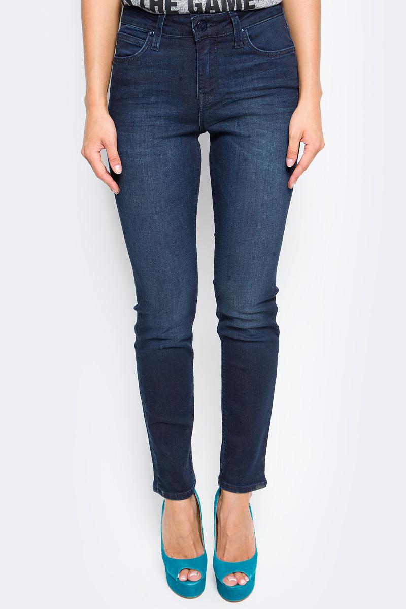 Джинсы женские Lee, цвет: синий. L305AIFA. Размер 30-35 (46-35) джинсы женские lee цвет синий l305aifa размер 30 35 46 35