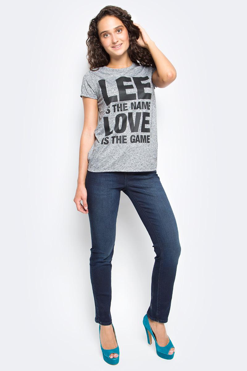 Джинсы женские Lee, цвет: синий. L305AIFA. Размер 30-35 (46-35) женские джинсы lee