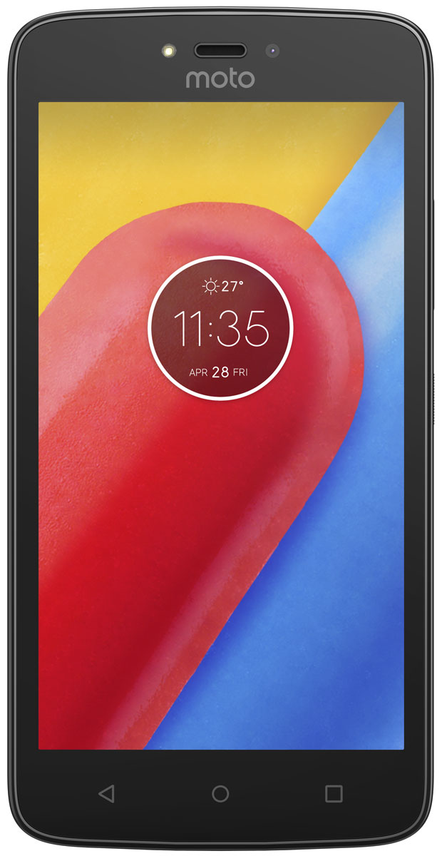 Motorola Moto C, Starry Black (XT1750) смартфон motorola moto c plus xt1723 starry black