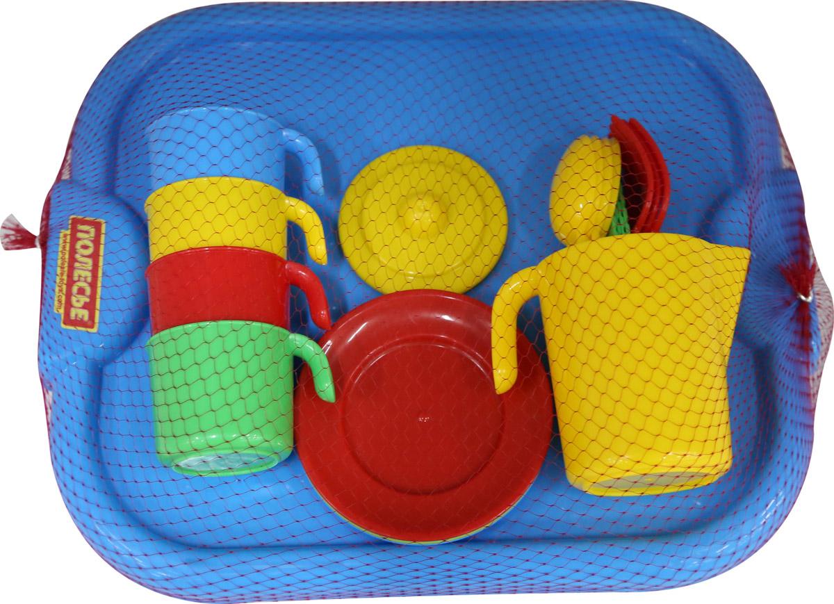 Полесье Набор игрушечной посуды Анюта 3889 полесье набор для песочницы 469