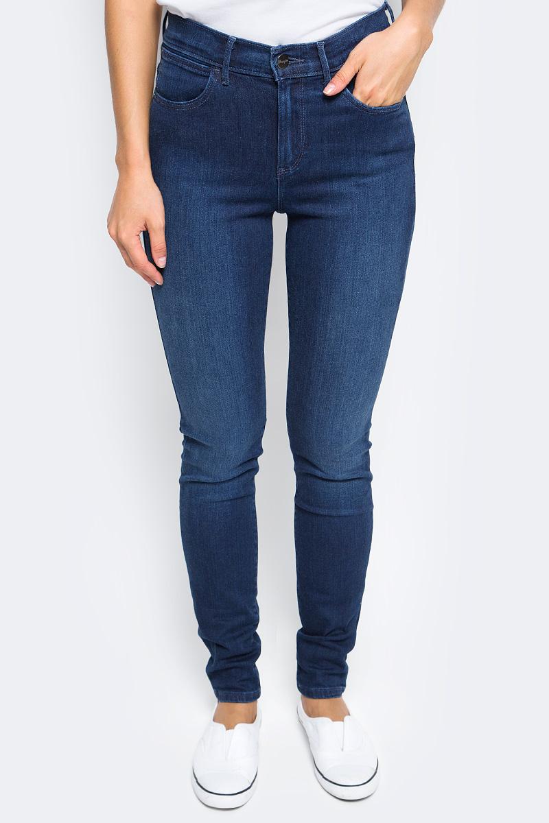 Джинсы женские Wrangler, цвет: синий. W27HX786N. Размер 29-32 (44/46-32) джинсы женские wrangler цвет темно синий w27hcw51l размер 29 32 44 46 32