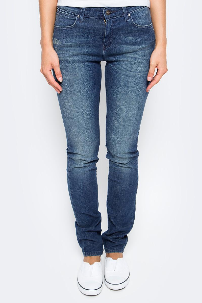 Джинсы женские Wrangler, цвет: синий. W28L9199G. Размер 29-32 (44/46-32) джинсы женские wrangler цвет темно синий w27hcw51l размер 29 32 44 46 32
