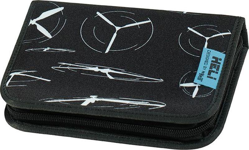 MC Neill Пенал Вертолет с наполнением 23 предмета9072175000Пенал MC Neil Вертолет станет не только практичным, но и стильным аксессуаром для любого школьника.Пенал прямоугольной формы выполнен из прочного материала и состоит из одного вместительного отделения, закрывающегося на застежку-молнию. Внутри располагается органайзер с письменными принадлежностями: цветные карандаши, 2 графитовых карандаша, ластик, линейка, двойная точилка. Такой пенал станет незаменимым помощником для школьника, с ним ручки и карандаши всегда будут под рукой и больше не потеряются.