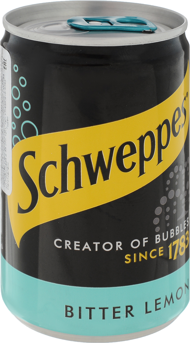 Schweppes Bitter Lemon напиток газированный, 150 мл samsung micro sd card 128gb 64gb 32gb 100mb s memory card class10 u3 u1 flash tf microsd card for phone with mini sdhc sdxc