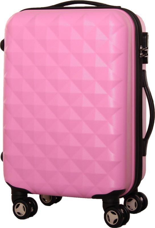 Чемодан Proffi, цвет: розовый, 43 х 30 х 67 см, 60 л. PH8368PH8368pinkСтильный пластиковый чемодан Proffi прекрасно подойдет для путешествий и поездок. Выполнен из поликарбоната. Внутри имеется 2 отделения. Закрывается чемодан на молнию и кодовый замок. Для удобства транспортировки имеется выдвижная ручка, а также боковая ручка.Размер: 43 х 30 х 67 см. Вес: 4,3 кг.Объем: 60 литров.Как выбрать чемодан. Статья OZON Гид