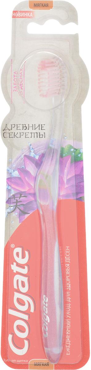 Colgate Древние секреты Зубная щетка Забота о деснах, мягкая, цвет: прозрачный4028913_прозрачныйЗубная щетка Colgate Древние секреты: Забота о деснах со щетиной высокой плотности помогает удалять бактерии, чем обеспечивает здоровье десен. Компактная головка зубной щетки делает чистку зубов еще более удобной.Зубную щетку Colgate Древние Секреты рекомендуется использовать вместе с зубной пастой Colgate Древние Секреты, содержащей ценные ингредиенты, которые упоминались еще в традиционных китайских рецептах, для здоровья зубов и десен.Товар сертифицирован.