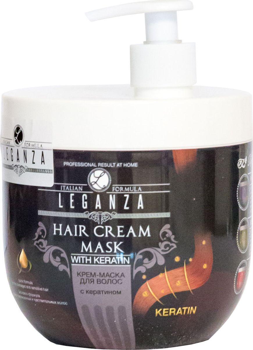 Leganza Крем-маска для волос с кератином, 1000 мл213-2-2818Крем-маска для волос LEGANZA с Кератином с дозатором. Созданная специально для ломких, поврежденных и чувствительных волос маска восстанавливает и питает волосы, укрепляет секущиеся кончики, разглаживает волосы. Интенсивно наполняет волосы активным кератином и обеспечивает экспресс-восстановление и блеск поврежденным волосам. Результат – восстановленные, мягкие на ощупь и ухоженные волосы.