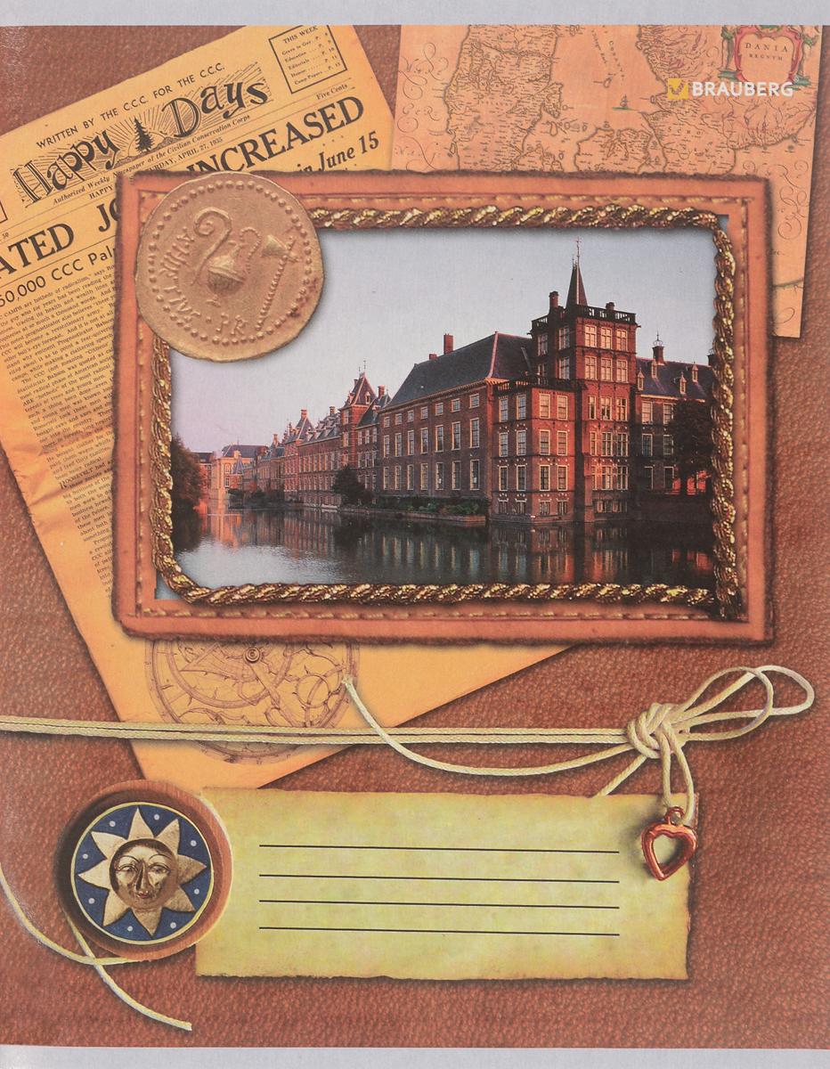 Brauberg Тетрадь Notebook 96 листов в клетку401290_рисунок 2Тетрадь Brauberg Notebook для учебы и работы.Обложка, выполненная из плотного картона, позволит сохранить тетрадь в аккуратном состоянии на протяжении всего времени использования.Внутренний блок тетради, соединенный металлическими скрепками, состоит из 96 листов белой бумаги. Стандартная линовка в клетку голубого цвета с полями.