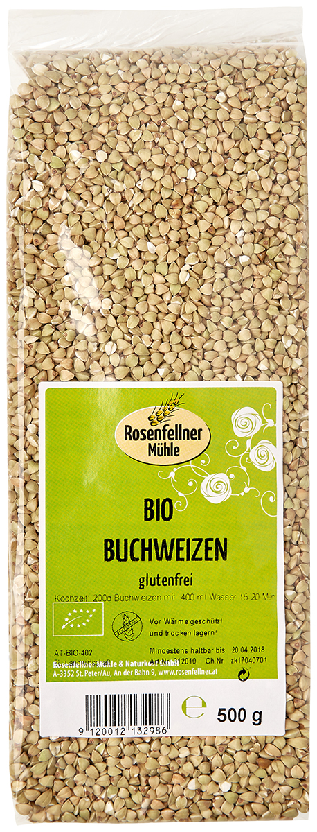 Rosenfellner Muhle крупа гречневая органическая, 500 г rosenfellner muhle органический рис басмати 500 г