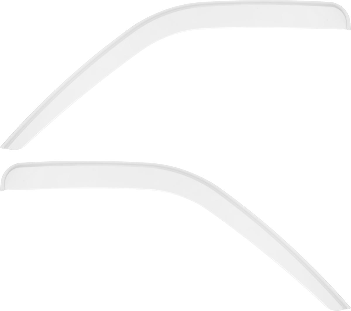 Ветровик REIN, для Газ 3302 Газель, цвет: белый, на накладной скотч 3М, 2 штREINWV034Ветровики REIN разрабатываются индивидуально под каждую модель автомобиля. При разработке используются современные технологии 3D-сканирования и моделирования, благодаря чему удается точно повторить геометрию кузова автомобиля. Важным фактором успеха продукта является качество используемых материалов. Для дефлекторов REIN используется традиционный материал – полиметилметакрилат (PMMA), обладающий оптимальными свойствами для производства ветровиков: высокая прочность и пластичность, устойчивость к температурным колебаниям и внешним химическим воздействиям. Ведется строгий входной контроль поступающего сырья, благодаря чему удается избежать негативного влияния разнотолщинности листов на геометрию изделий. Для крепления ветровиков в комплекте предусмотрен специализированный скотч 3М, благодаря чему достигается высокая адгезия.