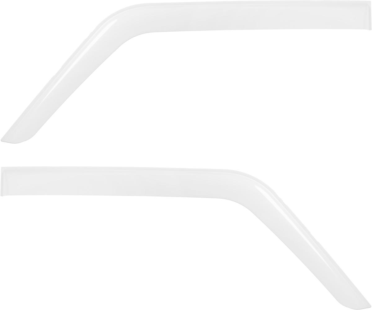Ветровик REIN, для Ваз 21213 1993- / 21214 Нива 1993-, цвет: белый, на накладной скотч 3М, 2 штREINWV021Ветровики REIN разрабатываются индивидуально под каждую модель автомобиля. При разработке используются современные технологии 3D-сканирования и моделирования, благодаря чему удается точно повторить геометрию кузова автомобиля. Важным фактором успеха продукта является качество используемых материалов. Для дефлекторов REIN используется традиционный материал – полиметилметакрилат (PMMA), обладающий оптимальными свойствами для производства ветровиков: высокая прочность и пластичность, устойчивость к температурным колебаниям и внешним химическим воздействиям. Ведется строгий входной контроль поступающего сырья, благодаря чему удается избежать негативного влияния разнотолщинности листов на геометрию изделий. Для крепления ветровиков в комплекте предусмотрен специализированный скотч 3М, благодаря чему достигается высокая адгезия.