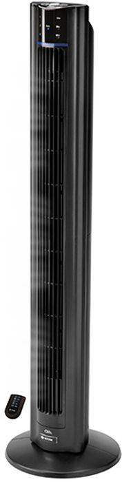Vitek VT-1936(BK) вентиляторVT-1936(BK)VITEK VT-1936 BK – высокопроизводительный напольный вентилятор колонного типа. С таким устройством не страшна жара, оно легко установит в помещении оптимальный с точки зрения владельца микроклимат.ЭФФЕКТИВНАЯ ВЕНТИЛЯЦИЯВ устройстве используется тангенциальный вентилятор. Это обеспечивает низкий уровень шума во время работы, позволяет создавать равномерный воздушный поток, а также даёт возможность легко изменять его направление.ТАЙМЕР ВЫКЛЮЧЕНИЯРазработчики предусмотрели таймер выключения, что делает использование устройства особенно удобным. Владелец может запрограммировать вентилятор на автоматическое отключение, чтобы сэкономить электроэнергию.ИОНИЗАЦИЯ ВОЗДУХАВ корпус вентилятора встроен ионизатор, насыщающий воздух ионами, уничтожающими болезнетворные бактерии.