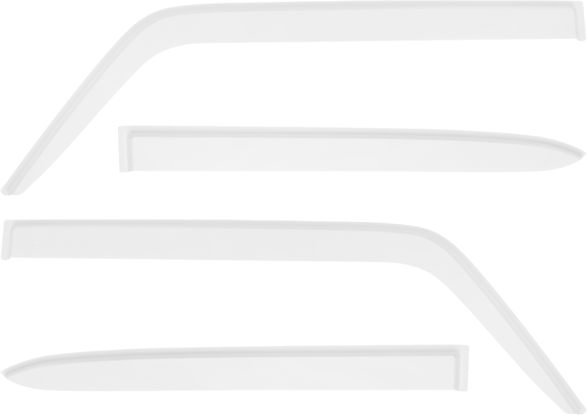 Ветровик REIN, для Ваз 2105 1980-2010 / 2107 1982-2013, цвет: белый, на накладной скотч 3М, 4 шт колонка rexant 2107 18 2107 black