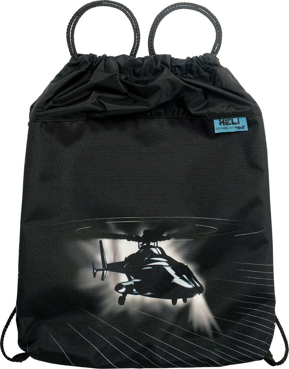 Thorka Сумка для сменной обуви и одежды MC Neill Вертолет9244175000Непромокаемая ткань, объем 11 л, 31 х 41см