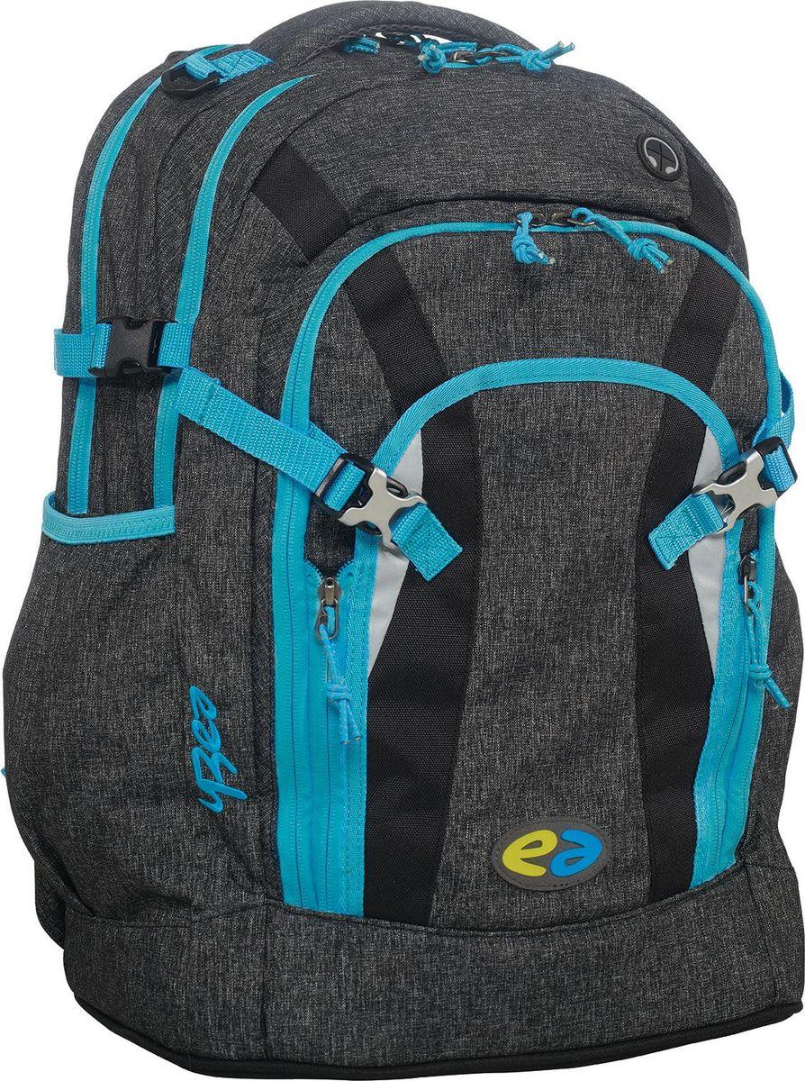 Thorka Рюкзак YZEA Pro Рок29014628067Два самостоятельных отделения рюкзака Thorka YZEA Pro помогают поддерживать порядок, способствуют распределению веса. В удобном органайзере мелкие вещи всегда под рукой.Регулируемый по высоте нагрудный ремень для фиксации рюкзака на спине, съемный поясной ремень обеспечивают плотное прилегание, за счет чего разгружается плечо. Гибкая несущая система с четырехуровневой регулировкой высоты.Ремни сжатия позволяют стянуть вместе два основных отделения, уменьшая объем. Фиксированная короткая ручка обеспечивает удобный перенос рюкзака не только на спине. К ручке прочно пришит кронштейн для подвешивания мешка для сменной обуви. Боковые эластичные карманы удобны для бутылок с напитками. Предусмотрены отделения для велосипедного шлема, куртки и прочего.