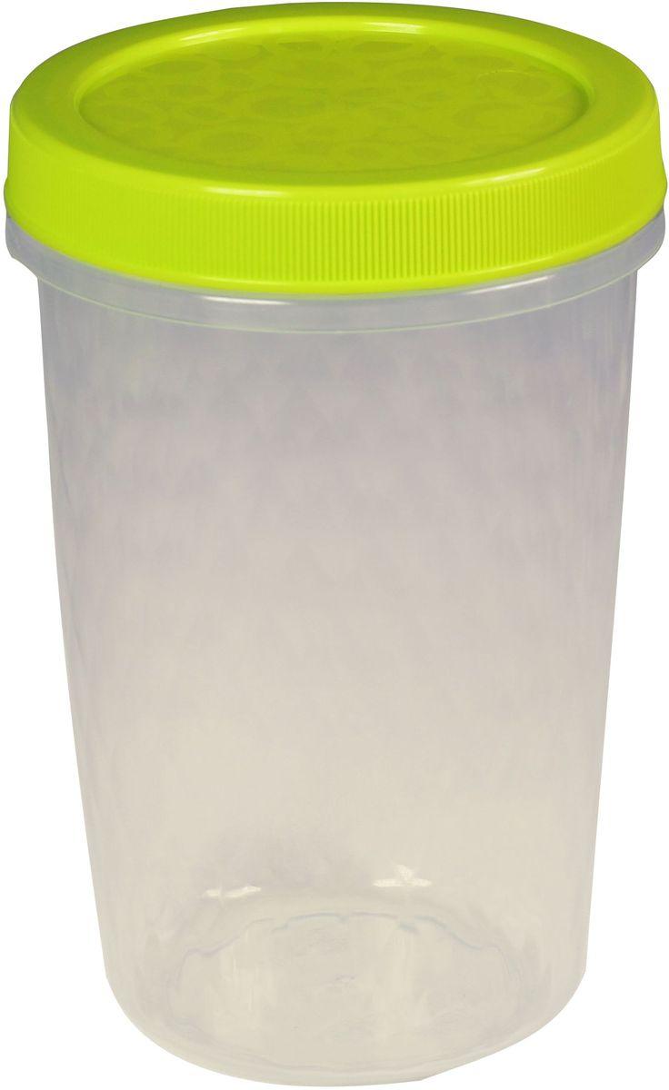 Емкость для продуктов Idea Ролл, цвет: салатовый, 700 млМ 1472Емкость для продуктов Idea Ролл изготовлена из сертифицированных материалов. Завинчивающаяся крышка надежно защищает продукты от высыхания и посторонних запахов. Емкость поможет организовать порядок на кухне. Рассортировать крупы, макароны, заморозить ягоды и овощи, хранить полуфабрикаты. Брать с собой в дорогу и на работу готовые домашние блюда. Оригинальный декор на крышке и объемный рисунок корпуса - украшают емкости и отличают их от аналогов.Можно использовать в посудомоечной машине и микроволновой печи. Объем: 0,7 л.