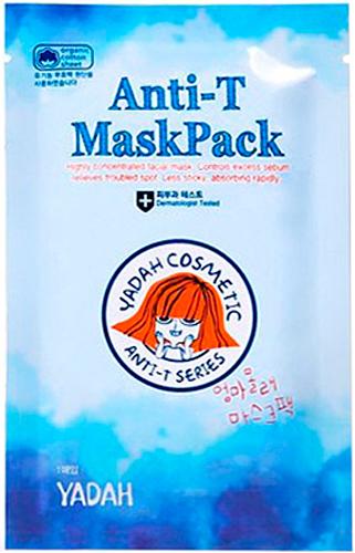 Yadah Тканевая маска для проблемной кожи8809340381754Тканевая маска для лица с видимым противовоспалительным и увлажняющим действием. Маска защищает и восстанавливает раздраженную кожу, предотвращая появление акне. Средство разработано специально для проблемной кожи, склонной к появлению несовершенств любого типа. Экстракт чайного дерева регулирует работу сальных желез, предотвращая появление жирного блеска кожи. Экстракт портулака успокоит кожу, сделав ее более мягкой и гладкой. Эвкалипт и мята освежают и тонизируют кожу, оказывая лечебное воздействие.