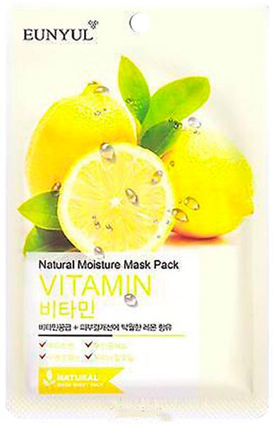 Eunyul Маска с витаминами, 22 г00-00000018Маска с витаминами оказывает прекрасное увлажняющее и питательное дейсвтие, наполняет клетки кожи энергией и жизненной силой, освежает и тонизирует кожу. При регулярном применении маски кожа становится гладкой и шелковистой, мягкой и нежной, осветляется пигментация и уменьшается глубина морщин.