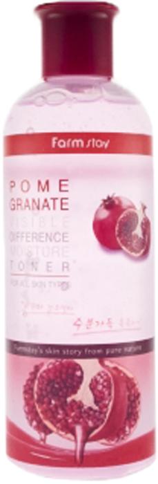 FarmStay Увлажняющий тонер с экстрактом ганата, 350 мл8809514480191Данный прекрасный тоник благотворно воздействует на эпителий. Средство освежает, очищает, снимает тяжесть с дермы. Оно тонизирует, улучшая кровообращение и питание. Тоник помогает убрать остатки макияжа, пыль, тяжелые металлы, вывести токсины, повышая эффективность последующих средств ухода. Эпидермис становится здоровым, сияющим. Прекрасные компоненты наполняют кожный покров витаминами и обеспечивают множество положительных эффектов. Главное действующее вещество тоника – гранат. Этот фрукт включил в себя 15 аминокислот, что позволяет защитить эпителий от свободных радикалов, внешних отрицательных воздействий. Гранат прекрасно омолаживает дерму, так как останавливает распад коллагена. Этот экстракт подтягивает, разглаживает морщины, активирует регенерацию. Благодаря высокому уровню увлажнения, гранат останавливает старение. Наполненность клеток водой обеспечивает сохранность их формы. Неиссушенный эпителий не склонен к появлению новых морщин. Баланс влаги также поддерживает в норме количество питательных веществ. Благотворно гранат воздействует и на эстетическое состояние дермы. Он помогает избавиться от пигментных пятен, веснушек, темных кругов, воспалений и раздражений. Гранат разглаживает, отбеливает и смягчает. Кроме того, этот фрукт создает защитный слой от солнца, ветра, мороза. Экстракт тонизирует, улучшая состояние кровеносных сосудов, предотвращая образование сосудистых звездочек. Таким образом, данный высококлассный тоник очистит, освежит эпителий, наполнит его кислородом, ценными веществами, влагой. Прекрасный состав средства подарит молодость, здоровье и сияние.