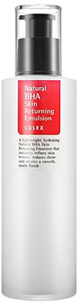 CosRX Эссенция для проблемной кожи с натуральными BHA-кислотами, 100 млML(3)-SIBСерия средств Natural BHA от CosRx предназначена для оздоровления проблемной кожи, а также для ухода за чувствительной, склонной к аллергии коже. Все средства созданы на основе BHA-кислоты, а также натуральных противовоспалительных и антимикробных компонентов. Специальное средство solution (солюшн) выступает в роли тонера и используется сразу после умывания. Средство легко распределяется по коже и быстро впитывается, глубоко проникает в кожу и на клеточном уровне запускает процессы ее восстановления. Тонер отшелушивает ороговевшие клетки кожи и стимулирует процессы обновления клеток, оказывает антисептическое и противовоспалительное действие, успокаивает кожу и ускоряет заживление воспалений, предупреждает появление новых, выравнивает текстуру и тон кожи. Основные действующие компоненты средства 1% бетаин-салицилата (BHA-кислота) и 60% прополиса. Бетаин-салицилат оказывает мощное противомикробное, противовоспалительное действие, растворяет загрязнения в порах и черные точки, удаляет ороговевшие клетки кожи, регулирует активность сальных желез. Прополис обладает великолепными антисептическими, анестезирующими, регенерирующими свойствами, незаменим для кожи, склонной к появлению воспалительных высыпаний. Питает, увлажняет и смягчает кожу, делает ее более упругой и эластичной, нежной и бархатистой. Кроме того, прополис повышает естественную проницаемость кожи, благодаря чему остальные компоненты косметики проникают в более глубокие слои кожи. За увлажнение кожи отвечает гиалуроновая кислота, а пантенол и аллантоин ускоряют процессы регенерации, заживляют и восстанавливают поврежденные участки кожи. Также в составе средства масло чайного дерева – природный антибиотик и антисептик, который способствует заживлению акне и предупреждает их повторное появление.