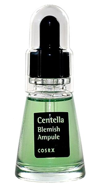 CosRX Ампульная эссенция для проблемной чувствительной кожи с экстрактом центеллы, 20 мл8809416470344Ампульная эссенция содержит экстракт центеллы азиатской, экстракт фиалки. Содержит растительный комплекс для снижения чувствительности кожи и риска ее повреждения. Контролирует работу сальных желез, препятствует образованию сального блеска и выработки излишнего кожного себума. Средство мгновенно воздействует на проблемный участок, успокаивает и дарит ощущение прохлады, восстанавливает гладкость кожи. Благотворно влияет на микроциркуляцию крови, выводит токсины из организма. Улучшает общее состояние кожи. Экстракт центеллы азиатской обладает сильным ранозаживляющим и противовоспалительным, а также тонизирующим действием. Улучшает микроциркуляцию и активизирует синтез коллагена, регенерирует клетки кожи. Повышает тургор кожи, противостоит преждевременному старению кожи. Экстракт фиалки трехцветной защищает кожу от неблагоприятного влияния окружающей среды, стрессов и других негативных факторов. Регулирует увлажнённость кожи, придает коже жизненную силу, делает ее сияющей и эластичной, улучшает, сглаживает микрорельеф кожи, делает кожу гладкой и подтянутой.