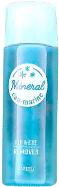 APieu Средство для снятия макияжа с глаз и губ, 100 мл8806185742177Двухфазное минеральное средство для снятия водостойкого и стойкого макияжа с глаз и губ бережно и эффективно очищает нежную кожу в районе глаз и губ, совершенно не раздражает и не вызывает чувства дискомфорта. Средство увлажняет кожу и укрепляет ее. В составе минеральная вода, а также экстракты листьев зеленого чая, розы, розмарина, гибискуса, арники, черники, черной малины, клубники, полыни, тысячелистника. Роскошный состав из растительных экстрактов бережно ухаживает даже за самой чувствительной кожей. Не содержит спиртов, минеральных масел, искусственных ароматизаторов.
