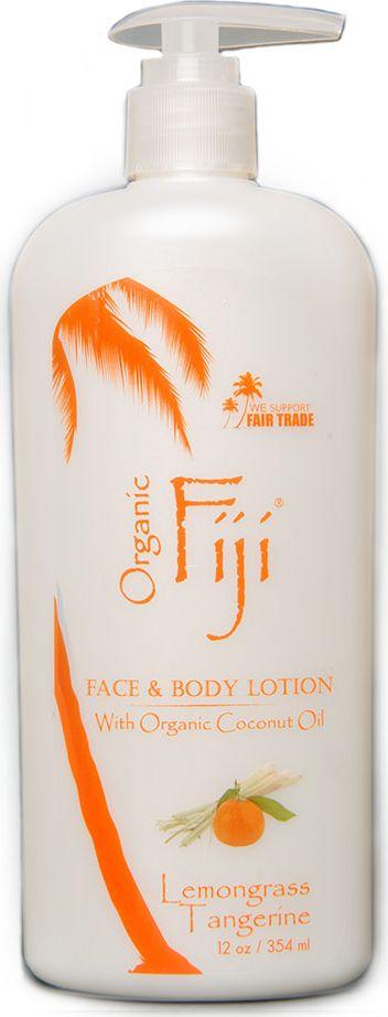 заказать Organic Fiji Питательный крем-лосьон для лица и тела, лемонграсс и мандарин, 354 г