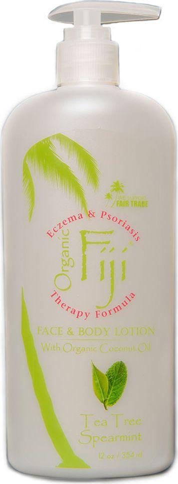 Organic Fiji Питательный крем-лосьон для лица и тела, мята и чайное дерево, 354 г - Косметика по уходу за кожей