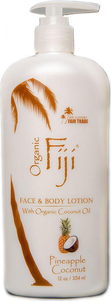 заказать Organic Fiji Питательный крем-лосьон для лица и тела, ананс и кокос, 354 г