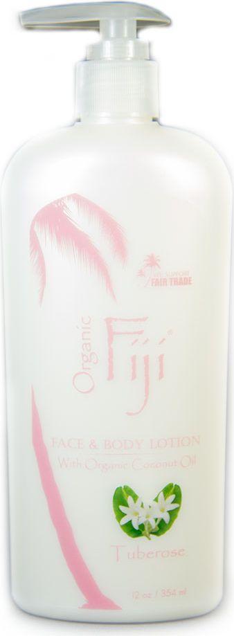 Organic Fiji Питательный крем-лосьон для лица и тела, тубероза, 354 г - Косметика по уходу за кожей