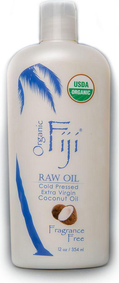 Organic Fiji Органическое кокосовое масло, 354 мл тайское кокосовое масло для волос