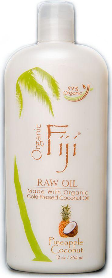 Organic Fiji Органическое кокосовое масло Ананас, 354 млO-1012Сладкий ананас и экзотический кокос идеально сочетаются, создавая атмосферу тропического пляжа. Сертифицированное нерафинированное кокосовое масло добывается методом холодного отжима, тем самым сохраняет в себе все полезные компоненты. Его уникальная молекулярная структура обладает увлажняющими, питательными и лечебными свойствами. Органическое кокосовое масло используется в уходе за кожей лица и тела, для снятия макияжа, активно борется с морщинами. Так же можно использовать в уходе за волосами и лечении кожи головы. Рекомендуется использовать для массажа детям с младенческого возраста. USDA сертифицированная органическая косметика.