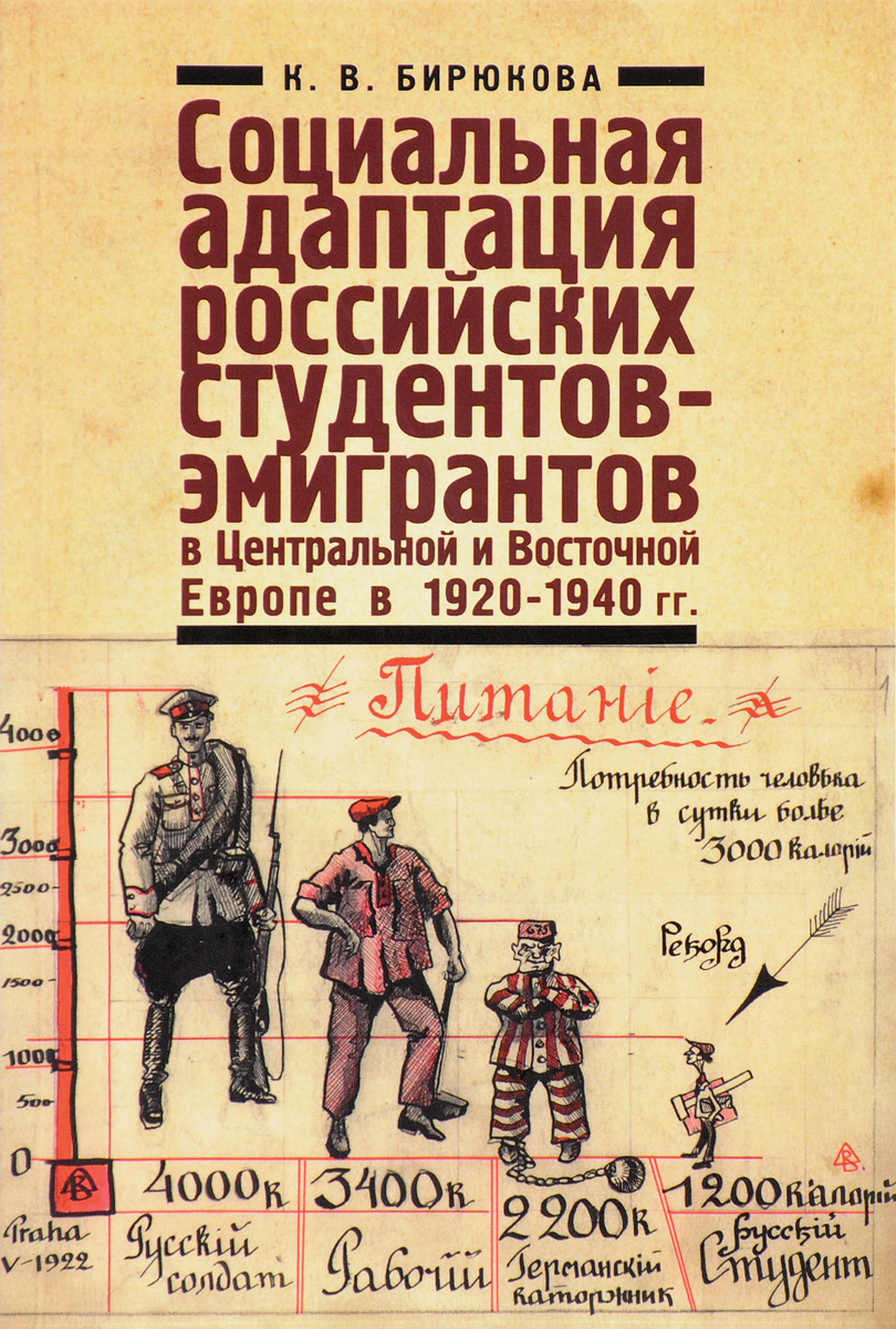 Социальная адаптация российских студентов-эмигрантов в Центральной и Восточной Европе в 1920-1940 годы