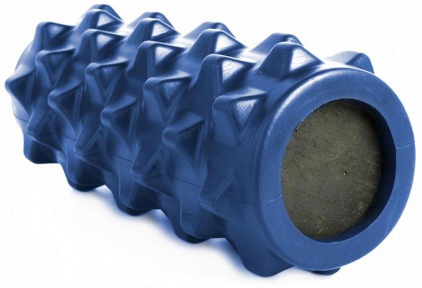 Валик для фитнеса Bradex, цвет: синий, 33,5 х 13 х 13 см мяч для фитнеса bradex массажный 75 см