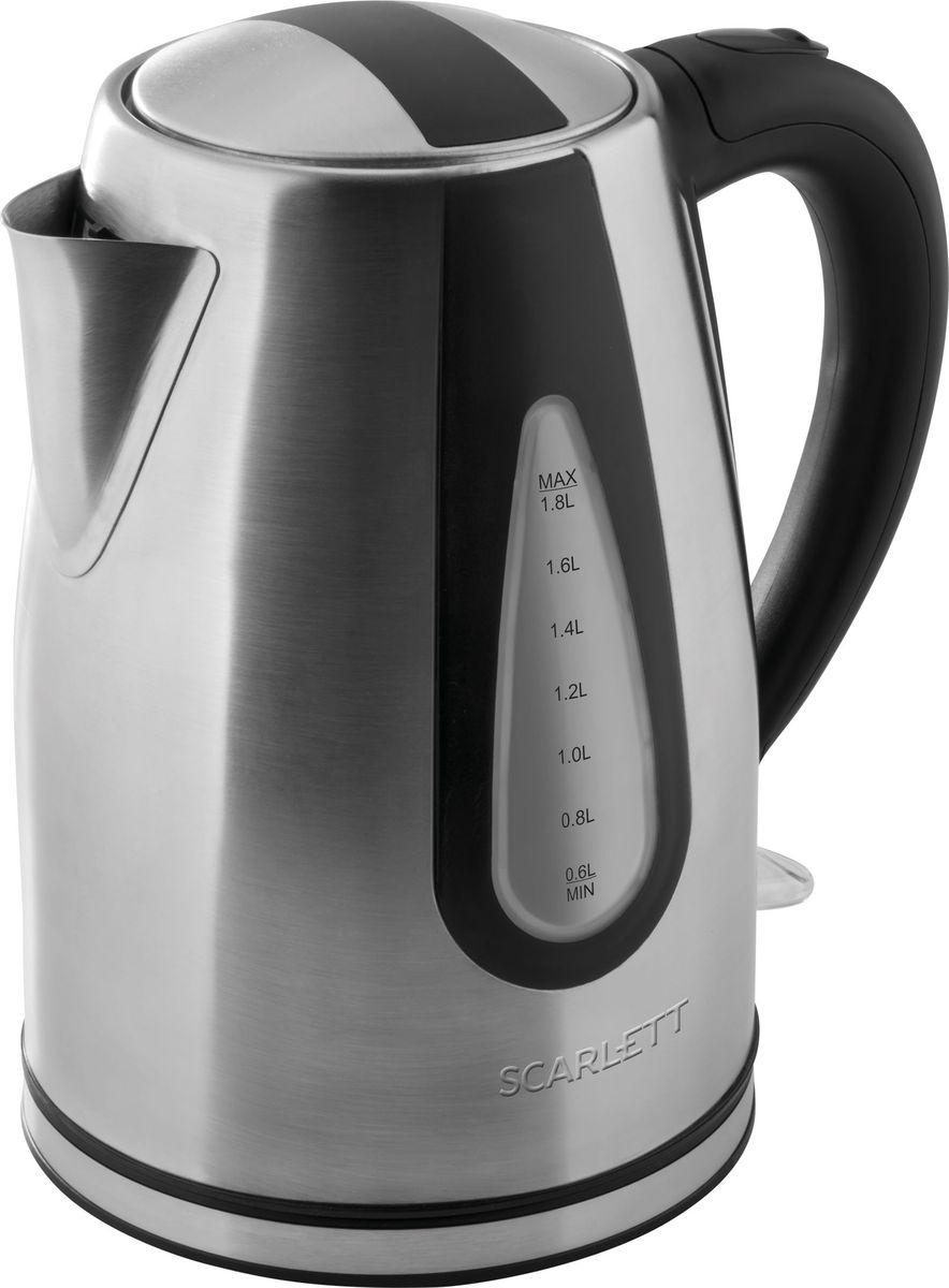 Scarlett SC-EK21S48, Steel электрический чайник электрический чайник scarlett sc ek18p15