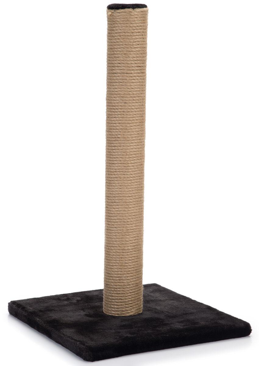 Когтеточка-столбик Beeztees Lesley, цвет: черный, 35 х 35 х 60 см408946Когтеточка-столбик Beeztees Lesley поможет приучить кошку точить коготки в строго определенном месте. Изготовлена из сизаля, натурального прочного материала. Размер: 35 х 35 х 60 см.