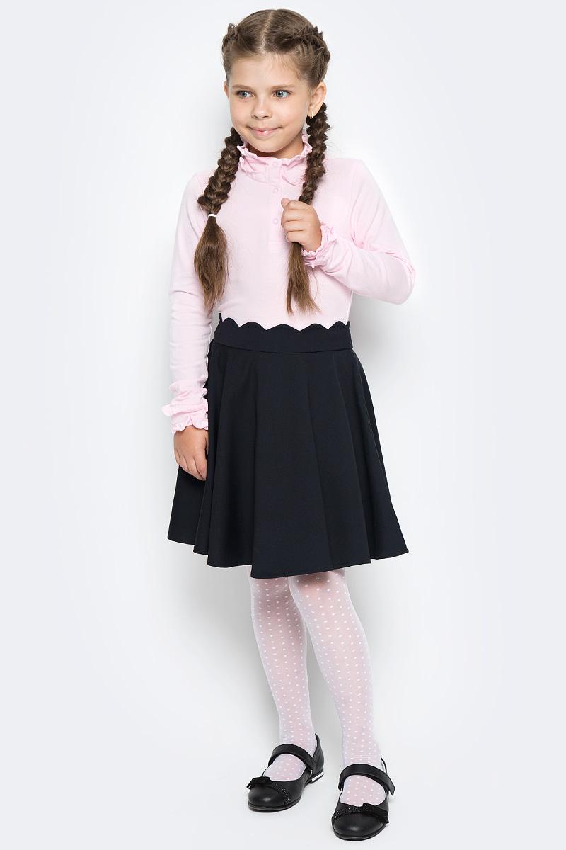 Юбка для девочки Vitacci, цвет: черный. 2173074-03. Размер 152 юбка для девочки vitacci цвет черный 2173043l 03 размер 164
