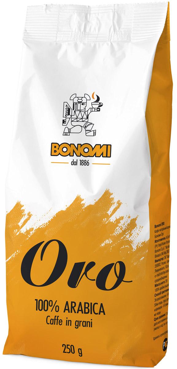 Bonomi Oro кофе в зернах, 250 гCBNM00-000009Сделано из лучших в мире сортов арабики, одна из старейших традиционных смесей Бономи. Обжарка темная, превосходный баланс горчинки и кислинки. Производство Италия.Кофе: мифы и факты. Статья OZON Гид