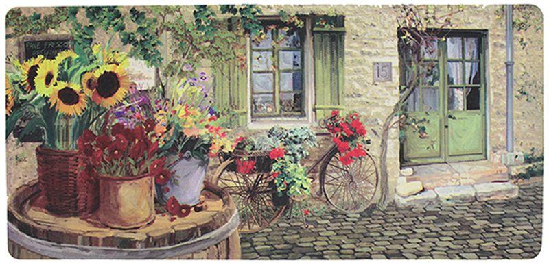 "Коврик защитный Apache Mills ""Village Street Floral"", 51 х 106 см"
