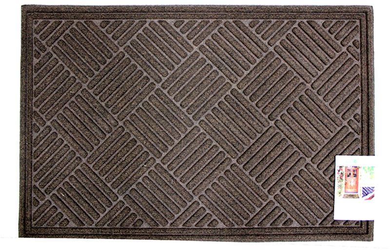 Коврик придверный Apache Mills Textures Crosshatch Walnut, 60 х 91 см5065Практичный и долговечный влаговпитывающий придверный коврик Textures. Настоящая находка для тех, кто любит функциональные и надежные вещи. Благодаря рельефному рисунку обладает высокими грязезащитными свойствами, хорошо очищает грязь с подошвы обуви. Обладает отличными влаговпитывающими характеристиками, устойчив к появлению плесени. Отличный вариант для использования перед входной дверью в сезон дождей или зимой. Основание из резины не крошатся и не растрескивается со врменем, поверхность из плотного волокна на основе полипропилена не выцветает, не истирается и не линяет при попадании влаги.