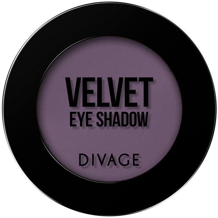 Divage Тени для век Velvet, Тон №7317 тени для век divage velvet 11 цвет 7311 variant hex name 5c6550
