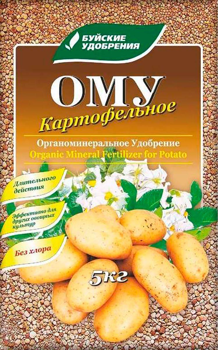 Удобрение Буйские Удобрения Картофельное, органоминеральное, универсальное, 5 кг ому цветочное серия элит буйские удобрения 3кг
