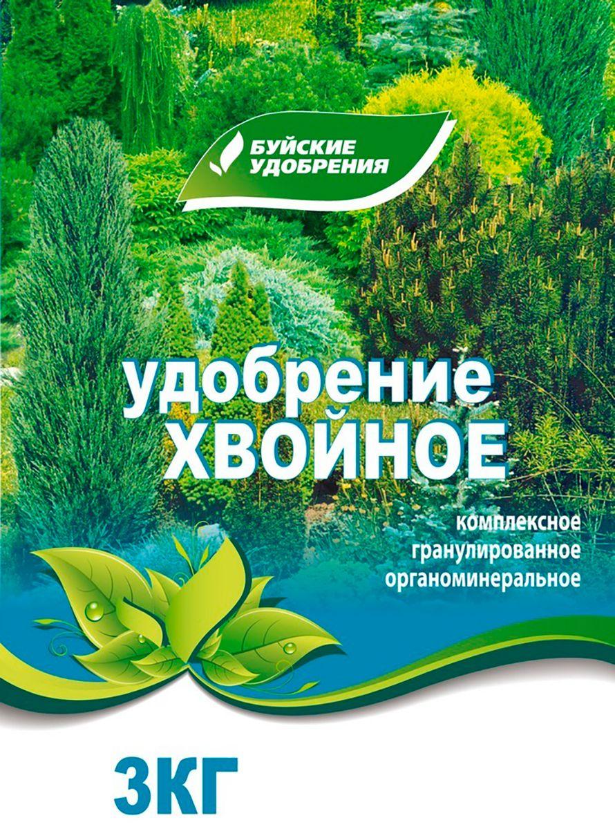 Удобрение Буйские Удобрения Хвойное, органоминеральное, универсальное, 3 кг ому цветочное серия элит буйские удобрения 3кг