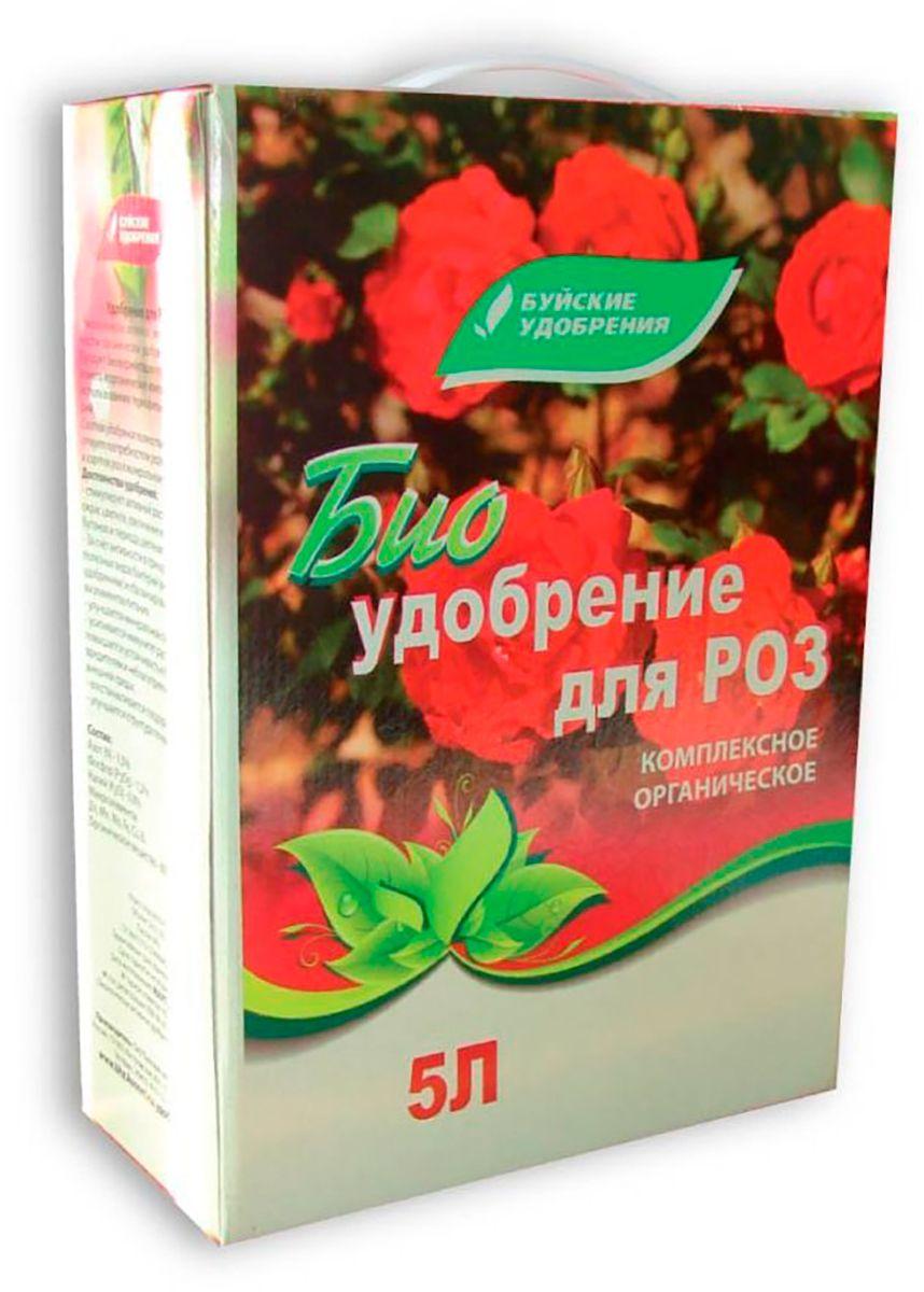 Удобрение Буйские Удобрения Для роз, 5 л удобрение буйские удобрения универсал органоминеральное универсальное 10 кг