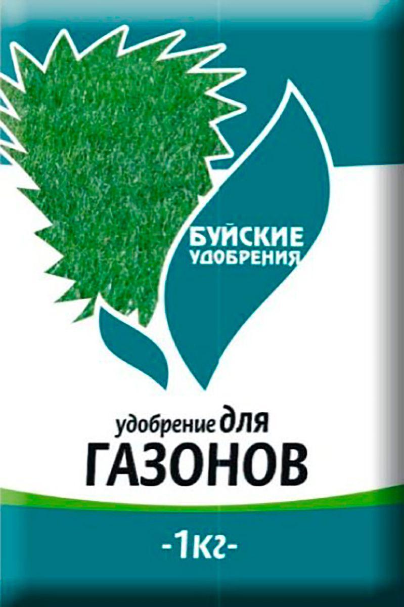 Удобрение Буйские Удобрения Для газонов, 1 кг удобрение буйские удобрения газонное органоминеральное универсальное 3 кг