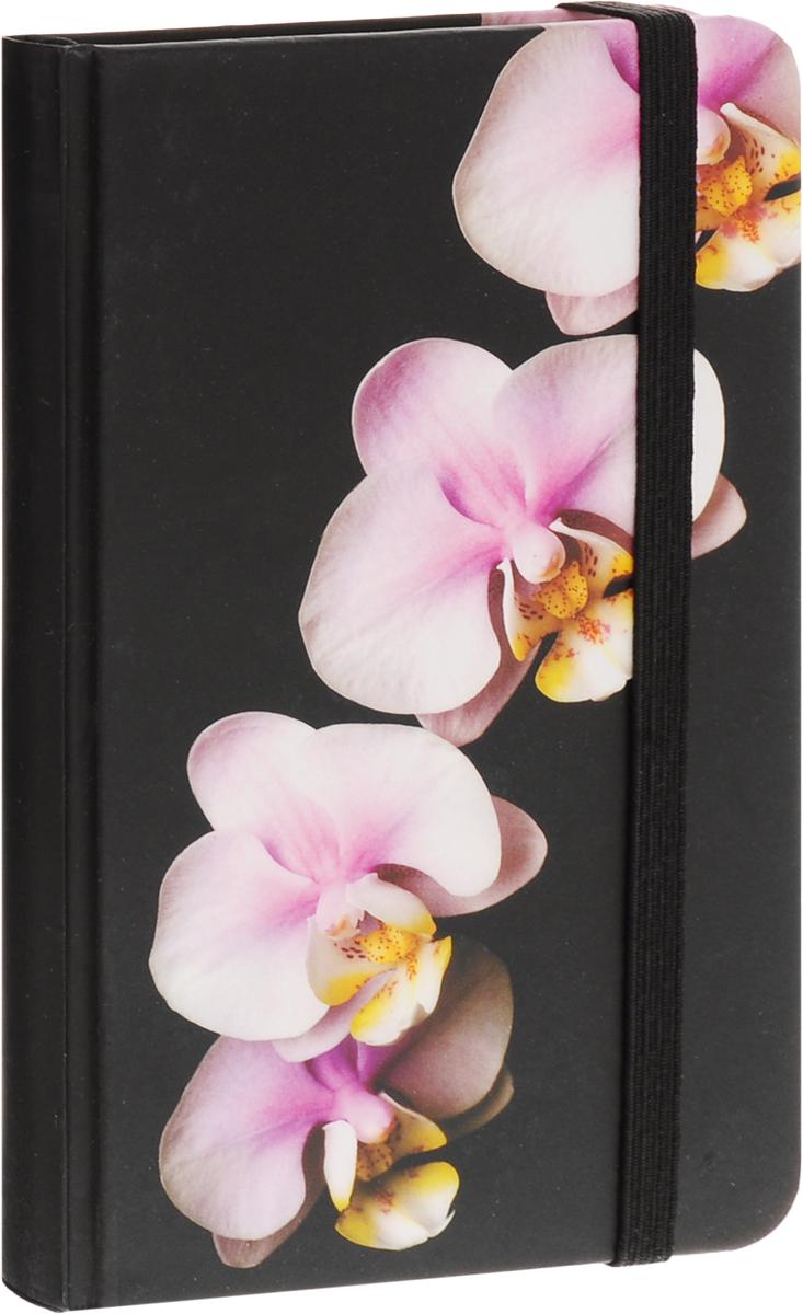 Brauberg Блокнот Цветы 80 листов в клетку вид 2125743_рисунок 2Блокнот Brauberg Цветы с изображением прекрасной орхидеи - это символ любви, элегантности и совершенства. Резинка-фиксатор не позволит блокноту открыться в сумочке или портфеле. блокнот внутри имеет бумажный карман и закладку ляссе. Блокнот содержит 80 листов кремовой бумаги формата А7 с разметкой в клетку.