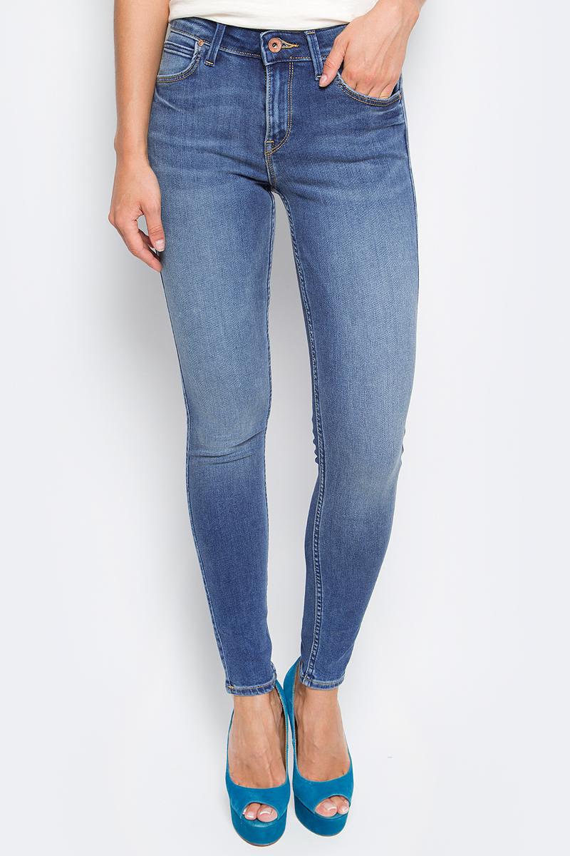 Джинсы женские Lee, цвет: синий. L529HAKE. Размер 26-33 (42-33) джинсы женские lee цвет синий l305aifa размер 30 35 46 35